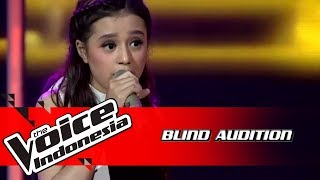 Virzha - Royals | Blind Auditions | The Voice Indonesia GTV 2018