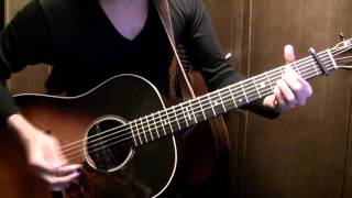 Acoustic guitar arranged & played by Osamuraisan. TAB→徹底解説で必...