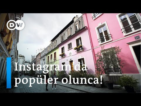 Rue Crémieux: Paris'in şirin sokağına Instagram istilası - DW Türkçe