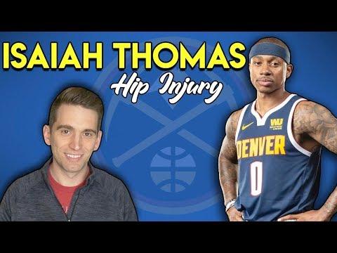 Isaiah Thomas RETURNS! Doctor Explains Hip Injury