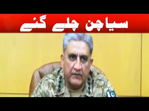 Pak Army Chief Bajwa reaches Siachen and warns enemies of Pakistan