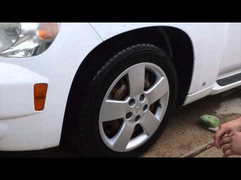 Tire & Wheel (hubcap) Cleaning and Dressing