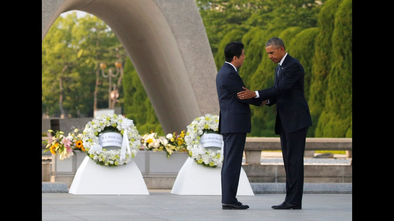 First Sitting President To Visit >> Obama First Ever Sitting Us President To Visit Hiroshima Youtube