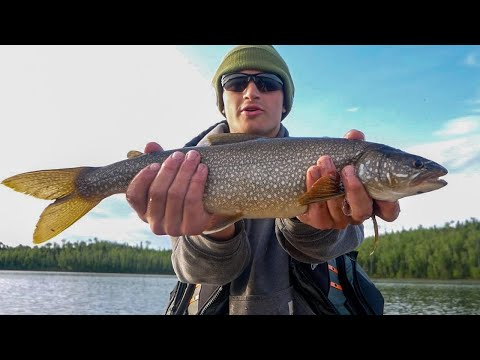 5 Day Bushcraft & Lake Trout Fishing Adventure Part 2 - Lost In Lakers