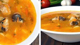 30 Минут и Суп Готов. Рыбный Суп из Сардин • Вкусный рецепт
