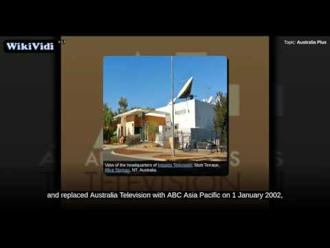 Australia Plus - WikiVidi Documentary