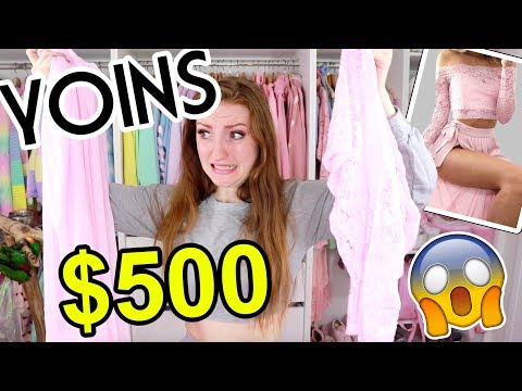 HUGE $500 YOINS CLOTHING HAUL AND TRY ON!!! Is it legit?!