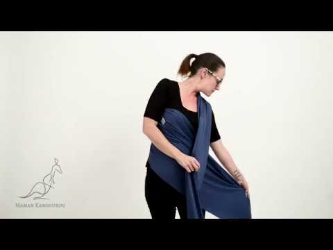 Baby Carrier Wrap Porte Bebe Echarpe Instructions Youtube