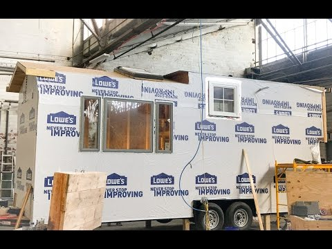 Incredible Tiny Homes LIve:  Current Workshop Build and Upcoming ITH Location Change