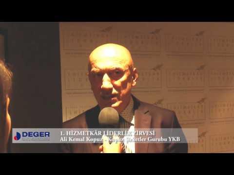 Ali Kemal Kopuz - 1. Hizmetkâr Liderlik Zirvesi Röportajı