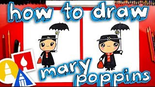 How To Draw Disney's Mary Poppins