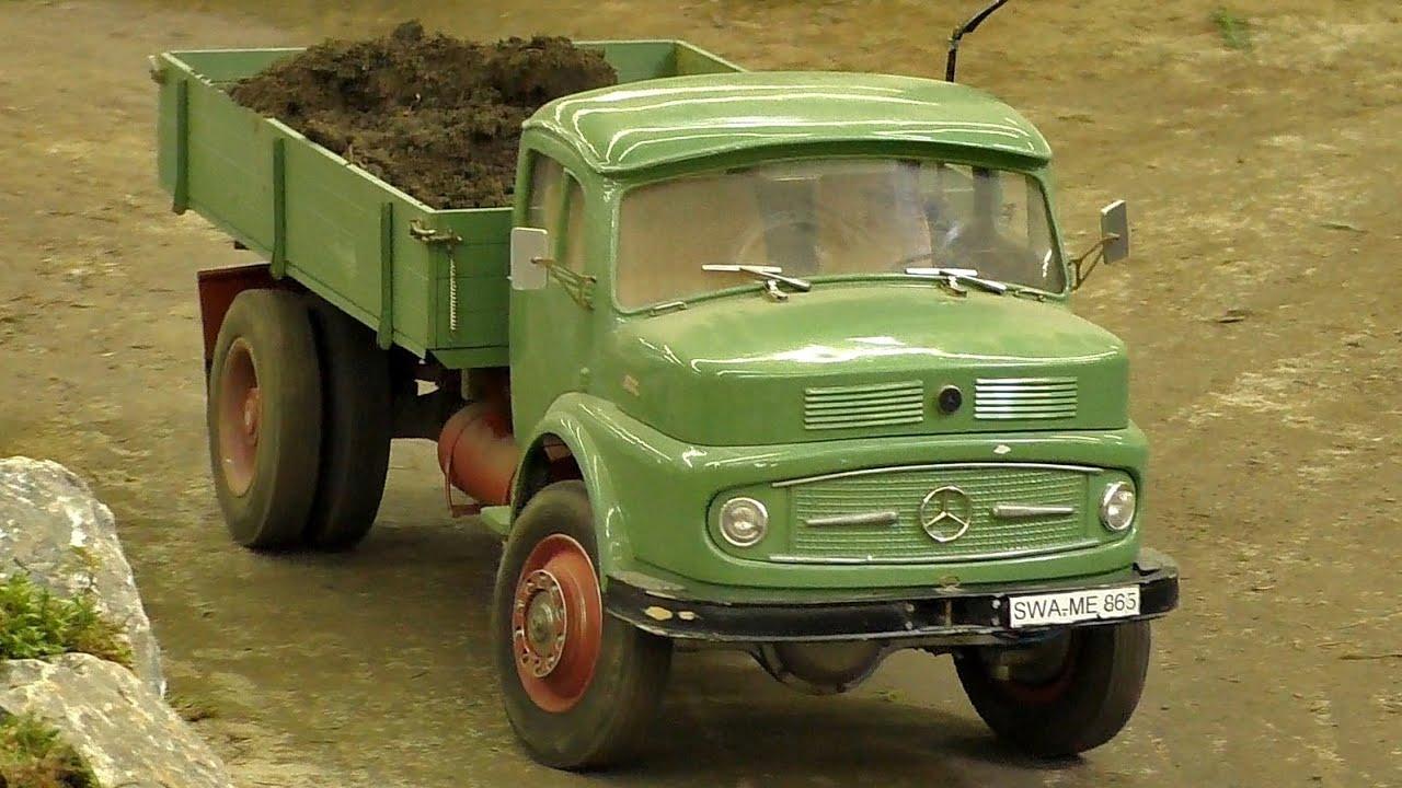 nice rc scale 1 8 oldtimer model truck lkw mercedes 1513. Black Bedroom Furniture Sets. Home Design Ideas