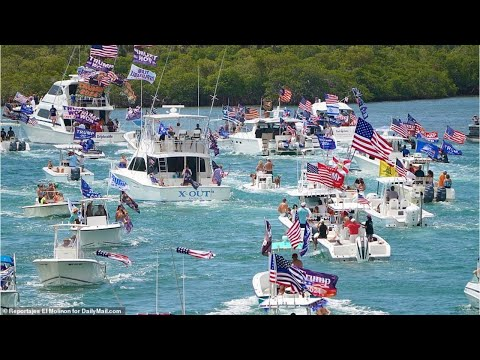 Thousands of Trump supporters gather in Florida for Memorial Day boat parade