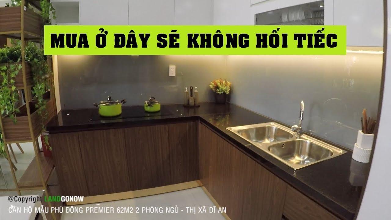Căn hộ mẫu Phú Đông Premier 62m2 2 phòng ngủ, Bình Dương – Land Go Now ✔