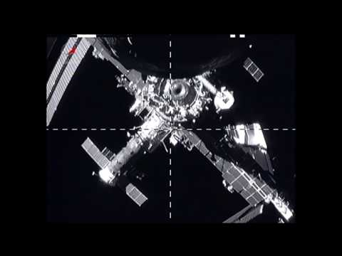 Space Station Cargo Craft Makes Way for Another