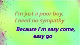 Panic! At The Disco - Bohemian Rhapsody Lyrics