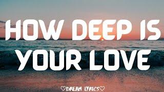 How deep is your love - Aesthetic Covers (Dream Lyrics)