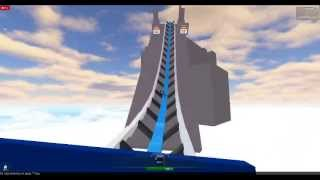 Blue Flash Roller Coaster POV ROBLOX
