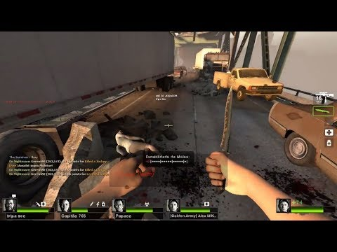 Left 4 Dead 2 - COOP 16 Players: The Parish - The Bridge - E