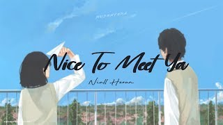 Niall Horan - Nice To Meet Ya (Lyrics + Terjemahan)