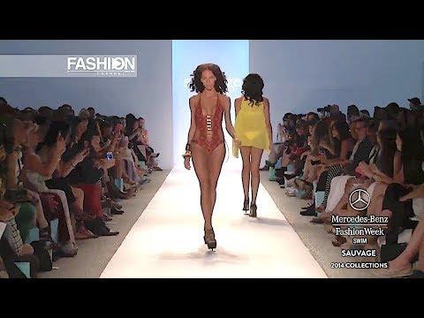 SAUVAGE Swimwear Spring Summer 2014 Miami - Fashion Channel