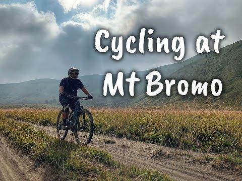 Mountain Biking at Mt Bromo