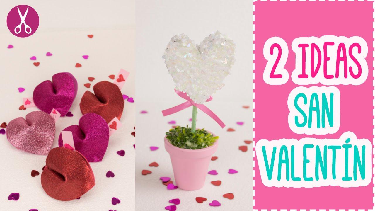 2 Ideas Faciles Para Regalar 14 De Febrero San Valentin Dia Del