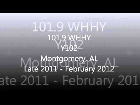 Alabama Rhythmic & CHR Top 40 Aircheck Samples 2011-2012 Part 1