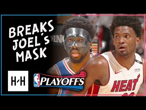 Justise Winslow Full Game 3 Highlights vs 76ers 2018 Playoffs - 19 Pts, 10 Reb, BEEF with Embiid
