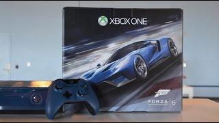 Xbox One Forza Motorsport Bundle первое включение и общие впечатления