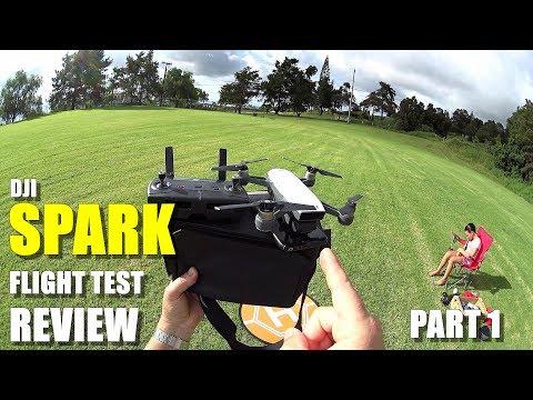 DJI SPARK In-Depth Flight Test Review - Part 1 - [Gesture Control, Range Test, Selfie & Tracking]