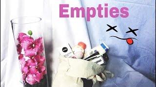 Empties | Prodotti finiti di Luglio