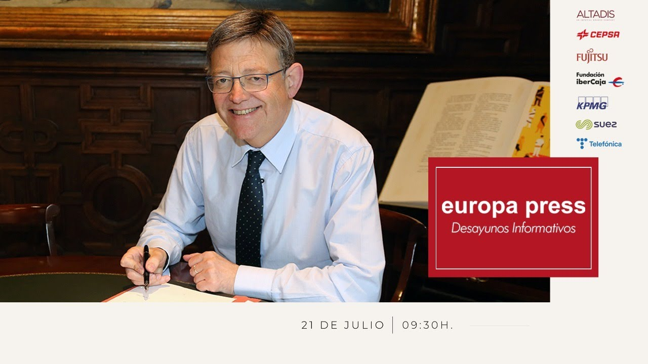 Download Desayuno Informativo Europa Press con el presidente de la Generalitat valenciana, Ximo Puig