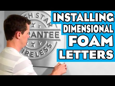 Tutorial: Installing Office Lobby Signs (The Easy Way)