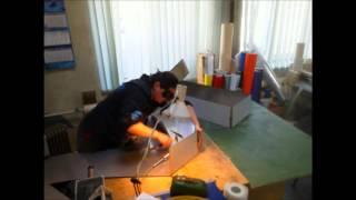 Лазерная сварка буквы из нержавеющей стали(, 2016-03-27T05:24:59.000Z)