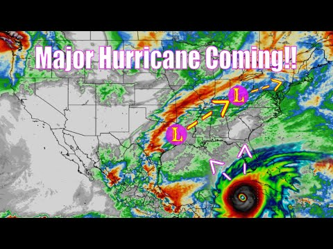Next Major Hurricane Coming! - Severe Weather forecast - The WeatherMan Plus Weather Channel