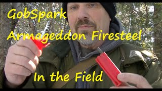 GobSpark Armageddon Firesteel in the field