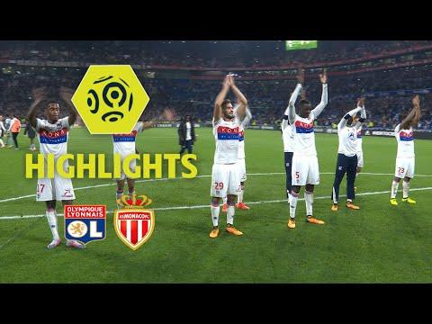 Olympique Lyonnais - AS Monaco (3-2) - Highlights - (OL - ASM) / 2017-18