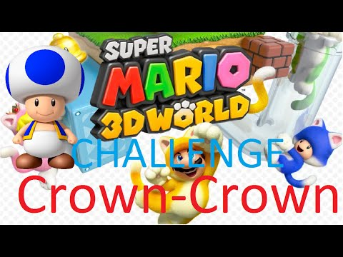 how to get to world crown in mario 3d world