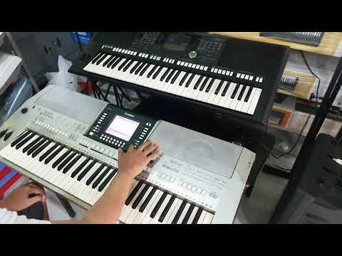 Test đàn Yamaha