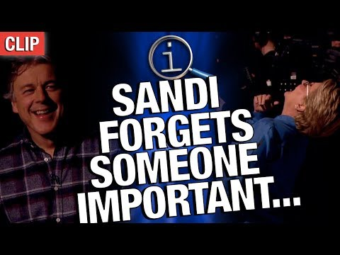 QI Series P: Sandi Forgets Someone Important...