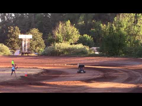 Cottage Grove Speedway, OR - 125cc Cage-Kart Hot Laps - August 25, 2017