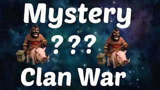 Clan War Mystery edition Clash of clans