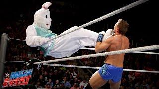 Adam Rose & The Bunny vs. Tyson Kidd & Natalya – Interspecies Match: WWE Main Event, Nov. 18, 2014