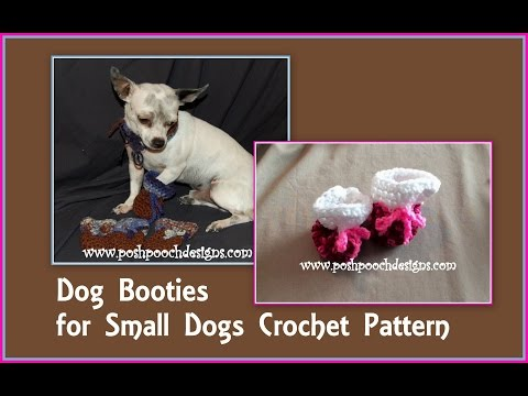 Dog Booties  Crochet Pattern