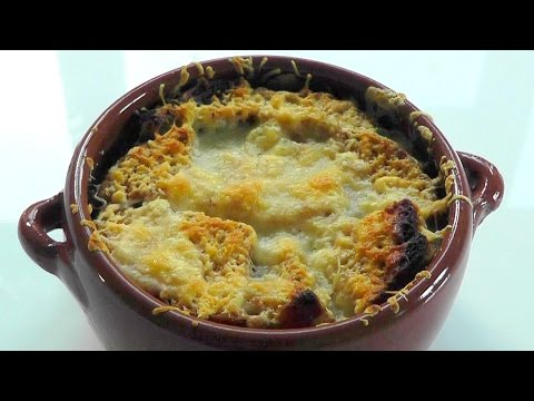 FRENCH ONION SOUP How to make recipe