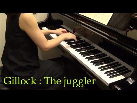 W.Gillock : The juggler ギロック:手品師