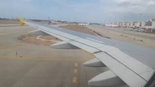 Vueling A320 Approach and Landing at Palma de Mallorca Airport