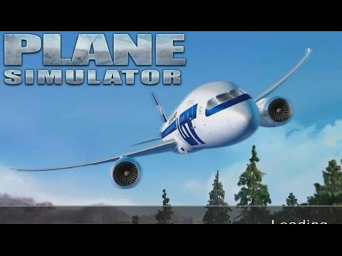 Plane simulator 3d android gameplay hd youtube for Simulatore 3d
