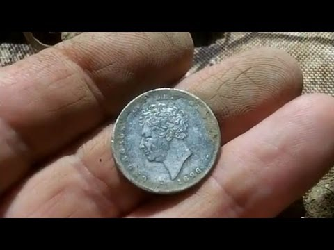 George IV Shilling Found On Old Show-Ground Field